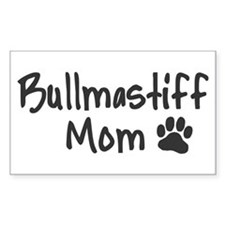Bullmastiff MOM Decal