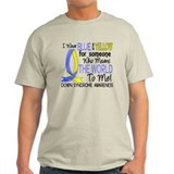 Means World To Me 1 Down Syndrome Shirts T-Shirt