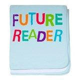 Future Reader Grunge baby blanket
