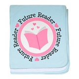 Future Reader Girls baby blanket