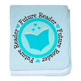 Future Reader Boys baby blanket