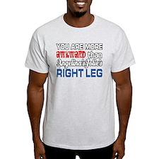Angelina's Leg T-Shirt