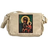 Black Madonna Messenger Bag