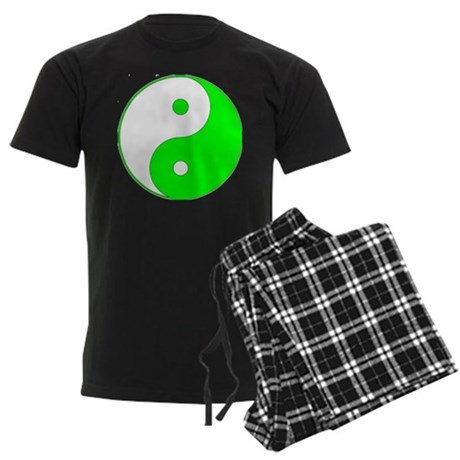 Yin & Yang Men's Dark Pajamas
