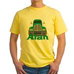 Trucker Alan Yellow T-Shirt