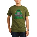 Trucker Alan Organic Men's T-Shirt (dark)