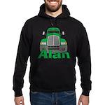 Trucker Alan Hoodie (dark)