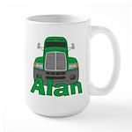 Trucker Alan Large Mug
