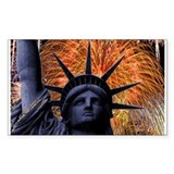Statue of Liberty Fireworks Decal
