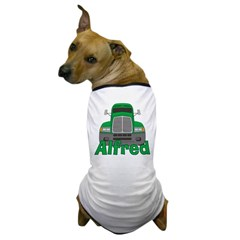 Trucker Alfred Dog T-Shirt