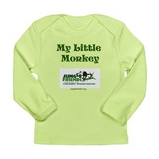 """My Little Monkey"" Organic Baby T-shirt"