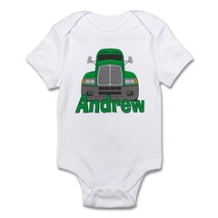 Trucker Andrew Infant Bodysuit