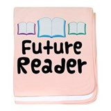 Book Future Reader baby blanket