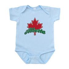 Alberta Maple Leaf Infant Bodysuit