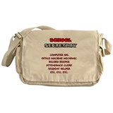 School Sec. Duties Messenger Bag
