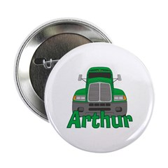 "Trucker Arthur 2.25"" Button"