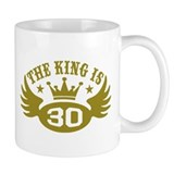 The King is 30 Mug