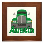 Trucker Austin Framed Tile