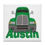 Trucker Austin Tile Coaster