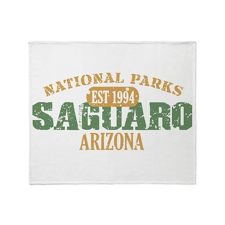 Saguaro National Park Arizona Throw Blanket