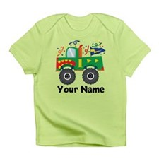 Personalized 1st Birthday Monster Truck Infant T-S