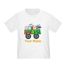 Personalized 3rd Birthday Monster Truck T