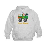 Personalized 3rd Birthday Monster Truck Hoody