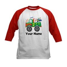 Personalized 7th Birthday Monster Truck Tee
