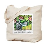 GARDEN CATS Extra- Roomy Garden Tote or Book Bag