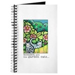 GARDEN CATS Journal or Blank Book