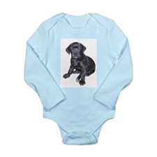 Mastiff Puppy Long Sleeve Infant Bodysuit
