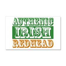 Authentic Irish Redhead Car Magnet 20 x 12