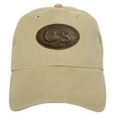 CS Oval Khaki Baseball Cap