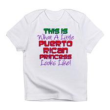 Puerto Rican Princess Infant T-Shirt