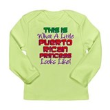 Puerto Rican Princess Long Sleeve Infant T-Shirt