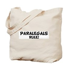 PARALEGALS Rule! Tote Bag