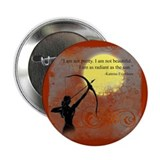 "Radiance of Katniss Everdeen 2.25"" Button"