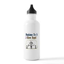 Magicians Do It Above Board Water Bottle