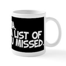 Dear Karma... Mug