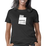 District 9 Stylist Women's Fitted Dark T-Shirt