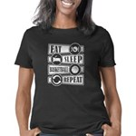 District 9 Stylist Women's Dark Plus Size V-Neck T-Shirt