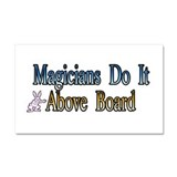 Above Board Auto Car Magnet 20 x 12