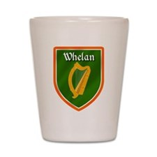 Whelan Family Crest Shot Glass