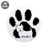"Pawfect Westie 3.5"" Button (10 pack)"