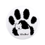 "Pawfect Westie 3.5"" Button (100 pack)"