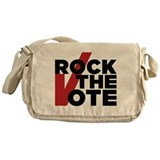 Rock the Vote Messenger Bag