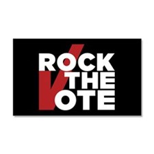 Rock the Vote Car Magnet 20 x 12