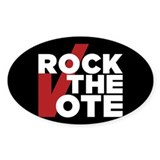Rock the Vote Decal