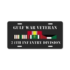 24th Infantry Division Gulf War Veteran Aluminum L