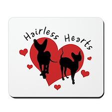 Mousepad - Hairless Hearts